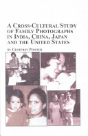 A Cross-cultural Study of Family Photographs in India, China, Japan and the United States