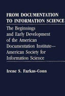 From Documentation to Information Science