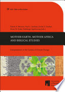 Mother Earth Mother Africa And Biblical Studies