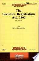 The Societies Registration Act