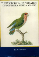 The Zoological Exploration of Southern Africa 1650-1790 ebook