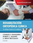 Rehabilitaci  n Ortop  dica Cl  nica   ExpertConsult Book