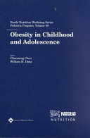 Obesity in Childhood and Adolescence Book