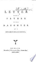 A Letter from a Father to His Daughter at a Boarding school Book PDF