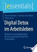 Digital Detox im Arbeitsleben