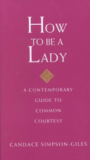 How to be a Lady Book