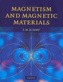 Magnetism and Magnetic Materials