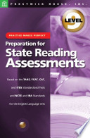 Practice Makes Perfect: Level 9: Preparation for State Reading Assessments