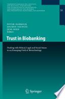 Trust in Biobanking