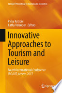Innovative Approaches to Tourism and Leisure Book