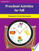 Preschool Activities for Fall