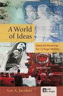 A World of Ideas Book PDF