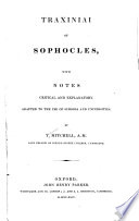 Traxiniai of Sophocles Book PDF