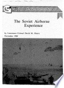 The Soviet Airborne Experience Book