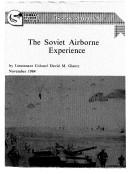 The Soviet Airborne Experience [Pdf/ePub] eBook