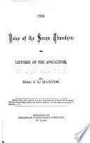 The Voice Of The Seven Thunders Or Lectures On The Apocalypse