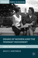 Deans of Women and the Feminist Movement Pdf/ePub eBook