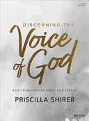 Discerning the Voice of God   Bible Study Book