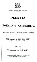 Debates of the     Session of the     Parliament of the House of Assembly