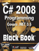 C  2008 Programming  Covers  Net 3 5 Black Book  Platinum Ed