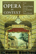 Opera in Context