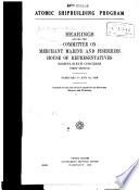 Atomic Shipbuilding Program Book