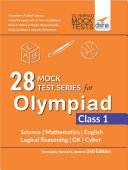 28 Mock Test Series for Olympiads Class 1 Science  Mathematics  English  Logical Reasoning  GK   Cyber 2nd Edition