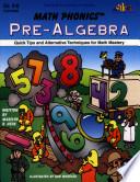 Math Phonics Pre Algebra Enhanced Ebook