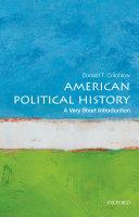 American Political History