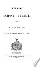 Vermont School Journal and Family Visitor Book PDF