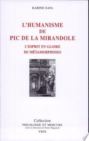 Read Online L'humanisme de Pic de la Mirandole Free Books - Unlimited Book