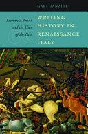 Writing History in Renaissance Italy
