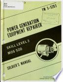 Power Generation Equipment Repairer