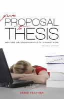 From Proposal to Thesis