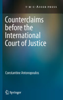 Counterclaims before the International Court of Justice Pdf/ePub eBook