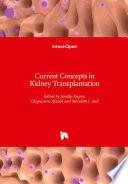 Current Concepts in Kidney Transplantation Book