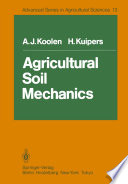 Agricultural Soil Mechanics Book