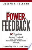 The Power of Feedback Book