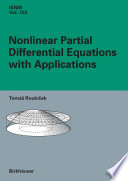 Nonlinear Partial Differential Equations with Applications Book