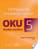 Orthopaedic Knowledge Update: Shoulder and Elbow 5: Ebook without Multimedia