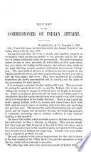 Annual Report of the Commissioner of Indian Affairs to the Secretary of the Interior for the Year