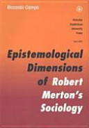 Epistemological Dimensions of Robert Merton's Sociology and the Debate in the Philosophy of Science of the Twentieth Century