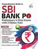 Comprehensive Guide to SBI Bank PO Preliminary   Main Exam with 5 Online Tests  9th Edition