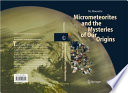 Micrometeorites and the Mysteries of Our Origins Book
