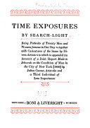 Time Exposures