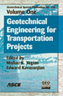 Geotechnical Engineering For Transportation Projects
