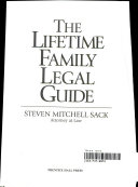 The Lifetime Family Legal Guide