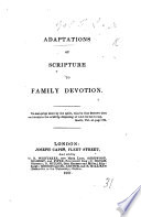 Adaptations of Scripture to Family Devotion