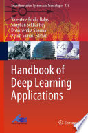 Handbook of Deep Learning Applications