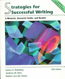 Strategies For Successful Writing